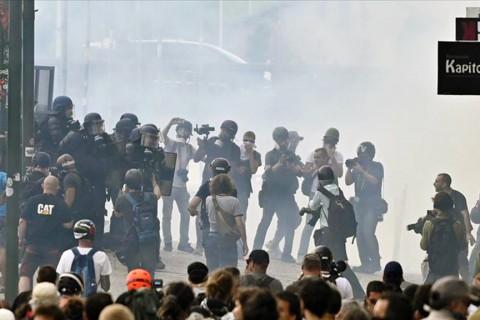 Fransa'nın güneybatısındaki Biarritz kentinde 24-26 Ağustos'ta düzenlenen G7 Zirvesi kapsamında 168 kişi gözaltına alındı.