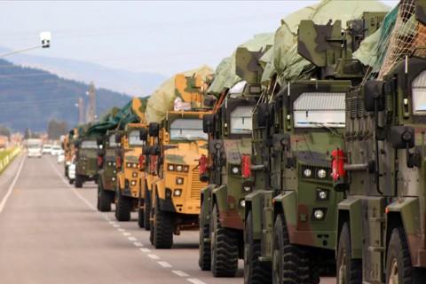 10 Temmuz 2019 | Türk Silahlı Kuvvetleri (TSK) tarafından Suriye sınırındaki askeri birliklere komando takviyesi yapıldı.