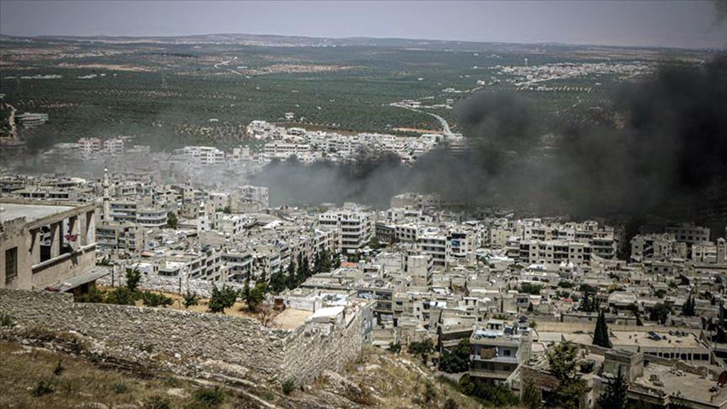 29 Temmuz 2019 | Rusya ve Esed rejiminin, İdlib Gerginliği Azaltma Bölgesi sınırları içindeki yerleşimlere düzenlediği hava saldırılarında 15 sivil öldü. (AA)