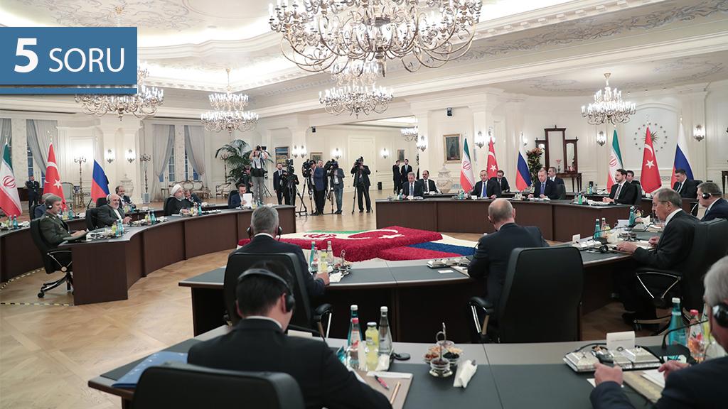 5 Soru: Astana Süreci ve Ankara Zirvesi