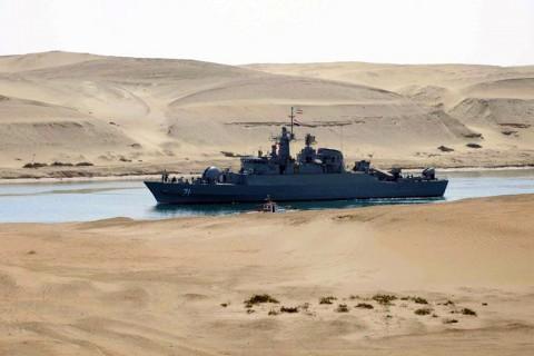 Basra Körfezi'nde bir İran savaş gemisi