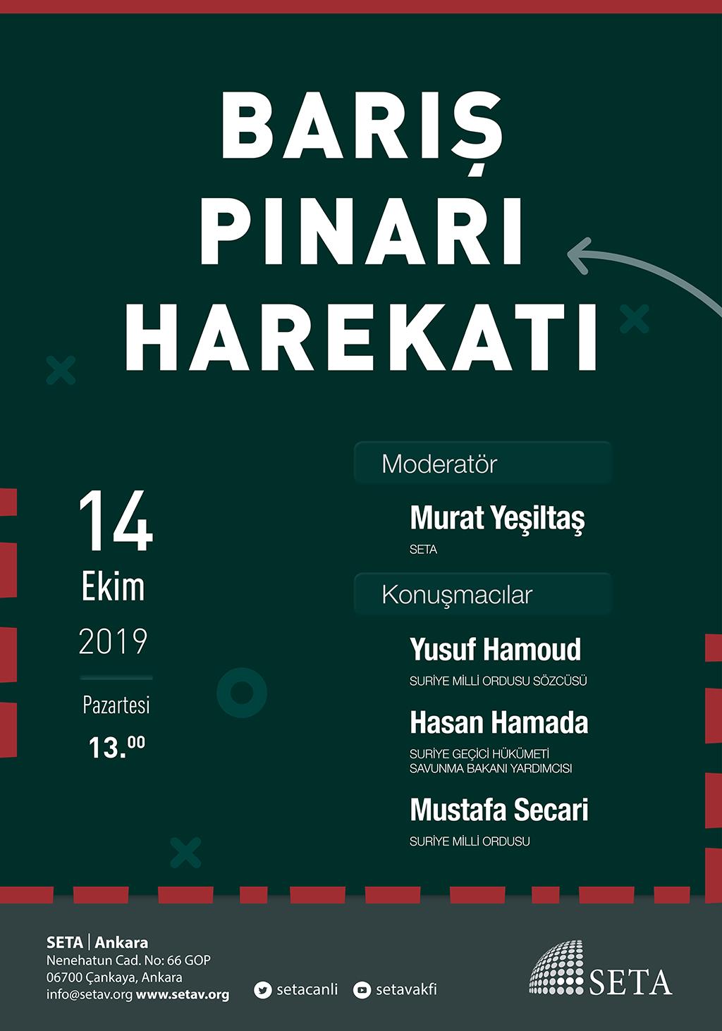 Panel: Barış Pınarı Harekatı