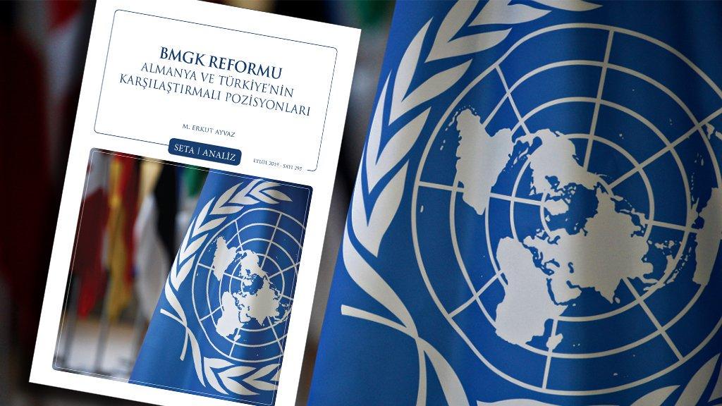 SETA, 'BMGK Reformu: Almanya ve Türkiye'nin Karşılaştırmalı Pozisyonları' analizini yayımladı.