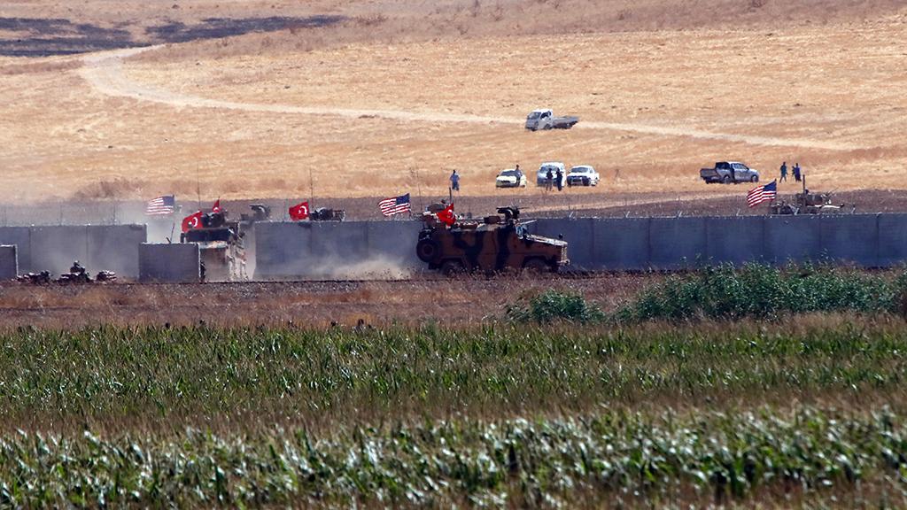 Türk ve ABD'li askeri heyetler Fırat'ın doğusunda ortak devriyesi gerçekleştirmişti.