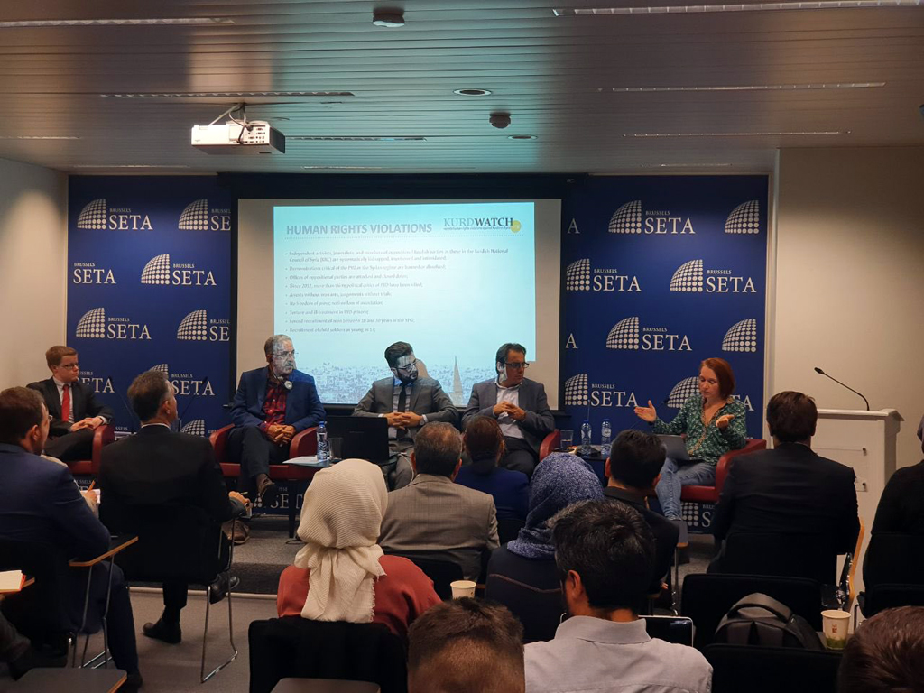 """SETA'dan """"PKK / YPG'nin Çocuk Savaşçıları"""" Paneli"""