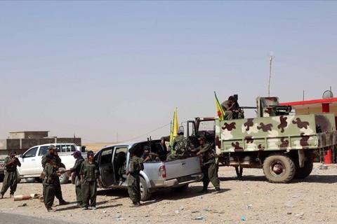 YPG/PKK'lı teröristler
