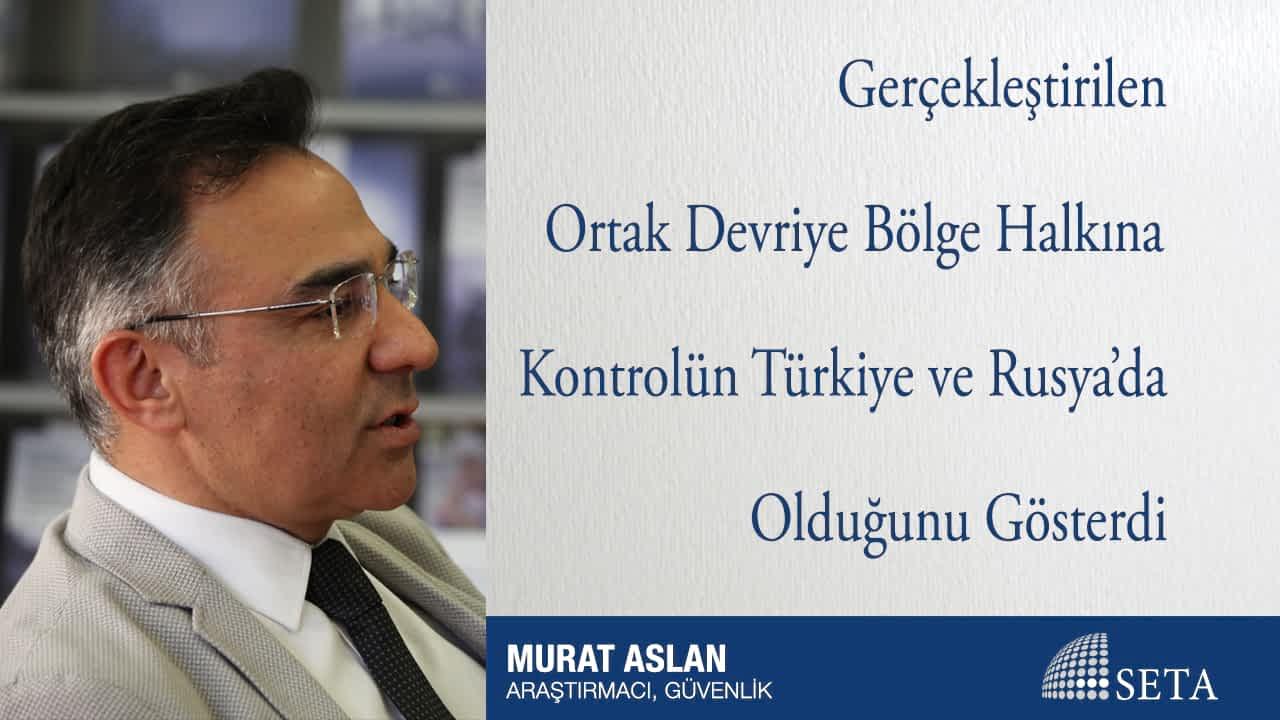 Gerçekleştirilen Ortak Devriye Bölge Halkına Kontrolün Türkiye ve Rusya'da Olduğunu Gösterdi