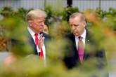 11 Temmuz 2018 | NATO Devlet ve Hükümet Başkanları Zirvesi, Belçika'nın başkenti Brüksel'de başladı. Zirveye katılan Türkiye Cumhurbaşkanı Recep Tayyip Erdoğan (sağda), ABD Başkanı Donald Trump (solda) ile sohbet etti.