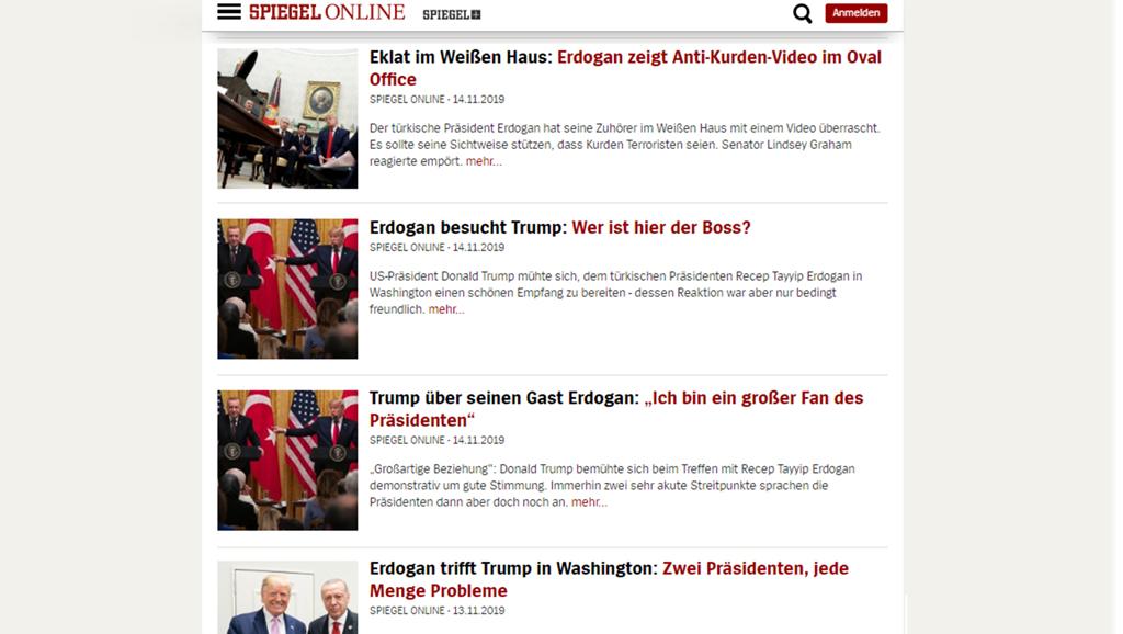 Alman Medyası Erdoğan-Trump Zirvesini Nasıl Gördü?