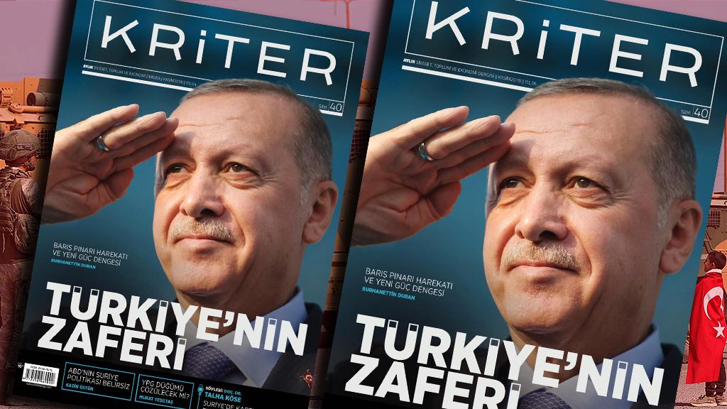 Kriter'in Kasım Sayısı Çıktı: Türkiye'nin Zaferi