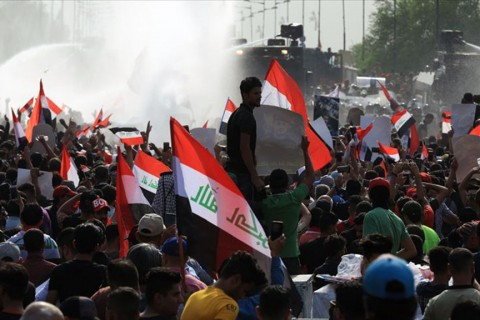 Irak'ta gösteriler