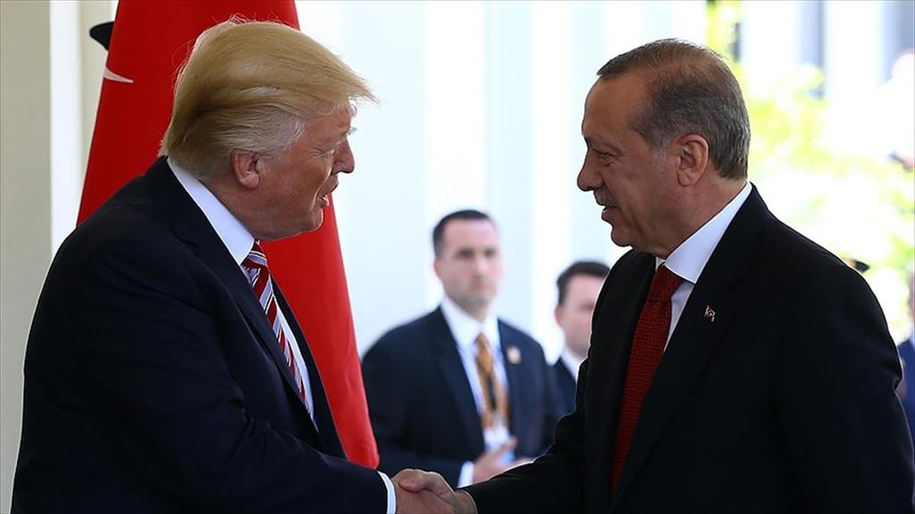 Başkan Recep Tayyip Erdoğan ve ABD Başkanı Donald Trump