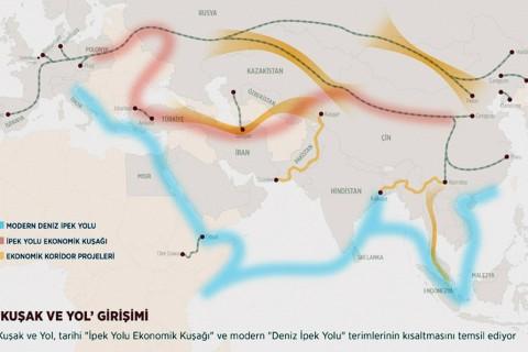 Kuşak ve Yol Girişimi | Grafik: AA / Yasin Demirci