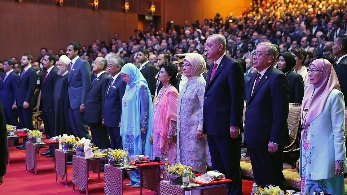 2019 Kuala Lumpur Zirvesi açılışı