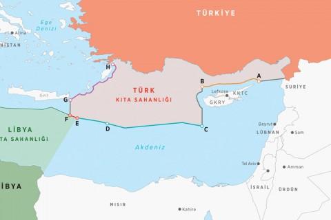Analiz: Doğu Akdeniz'de Deniz Yetki Alanları ve Türkiye-Libya Mutabakatı