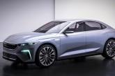 Türkiye'nin Otomobili Girişim Grubu'nun (TOGG), 2022 yılında üretimine başlayacağı yerli otomobil TOGG Sedan modeli.