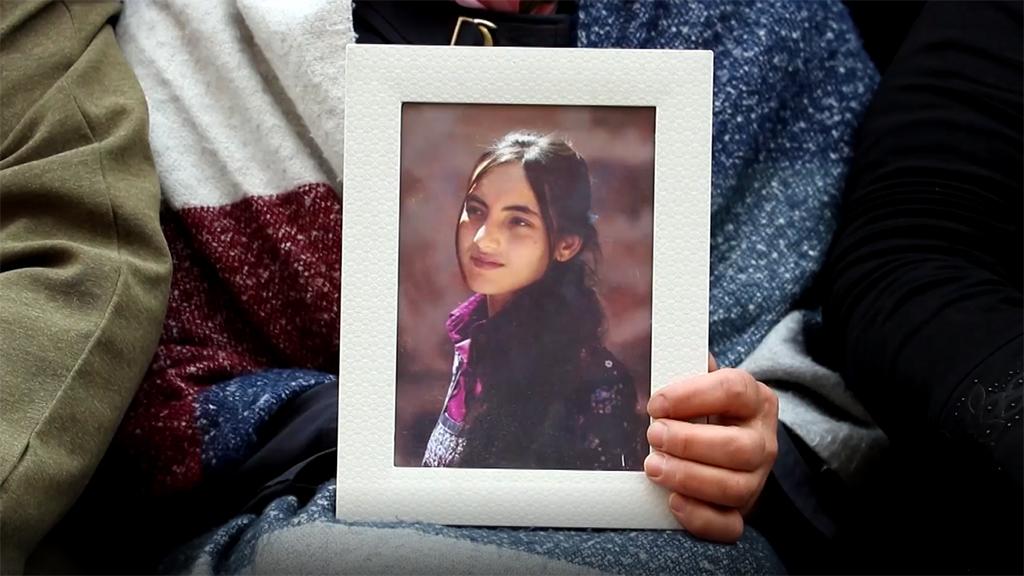 PKK tarafından dağa kaçırılan kız çocuğu