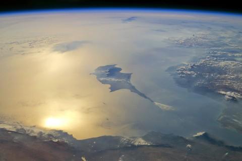 Uzaydan Doğu Akdeniz Kıyıları ve Kıbrıs (2011)