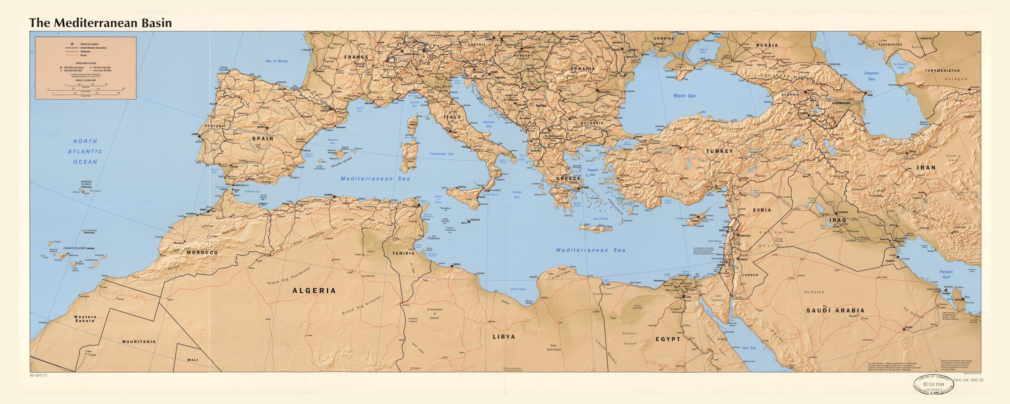 map-mediterranean-region | | SETA