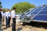 Güneş Paenellerinin robotla temizlenmesi