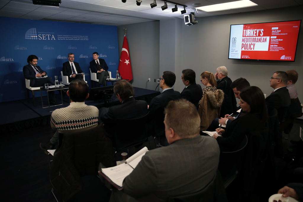 Washington'da Türkiye'nin Doğu Akdeniz Politikası Anlatıldı