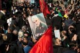 6 Ocak 2020 | ABD'nin Bağdat'ta hava saldırısında öldürdüğü İran Devrim Muhafızları'na bağlı Kudüs Gücü Komutanı Kasım Süleymani için Irak'ın ardından İran'da cenaze törenleri düzenlendi. Süleymani için önce Meşhed kentinde, ardından başkent Tahran'da cenaze töreni gerçekleştirildi. Törenlere yüzbinlerce insan katıldı.