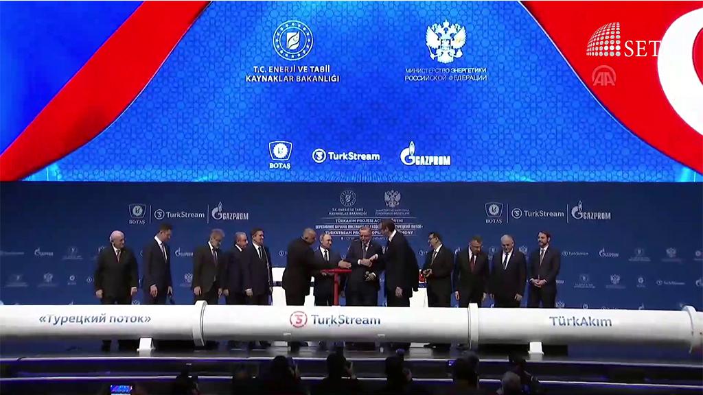 Tarihi proje TürkAkım doğal gaz boru hattı açıldı!