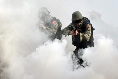 Türk Deniz Kuvvetleri; Sualtı Taarruz (SAT) Komandoları, Sualtı Savunma (SAS) Komandoları ve Amfibi Deniz Piyadeleri operasyonu.  ( Foto: https://dzkk.tsk.tr/ )