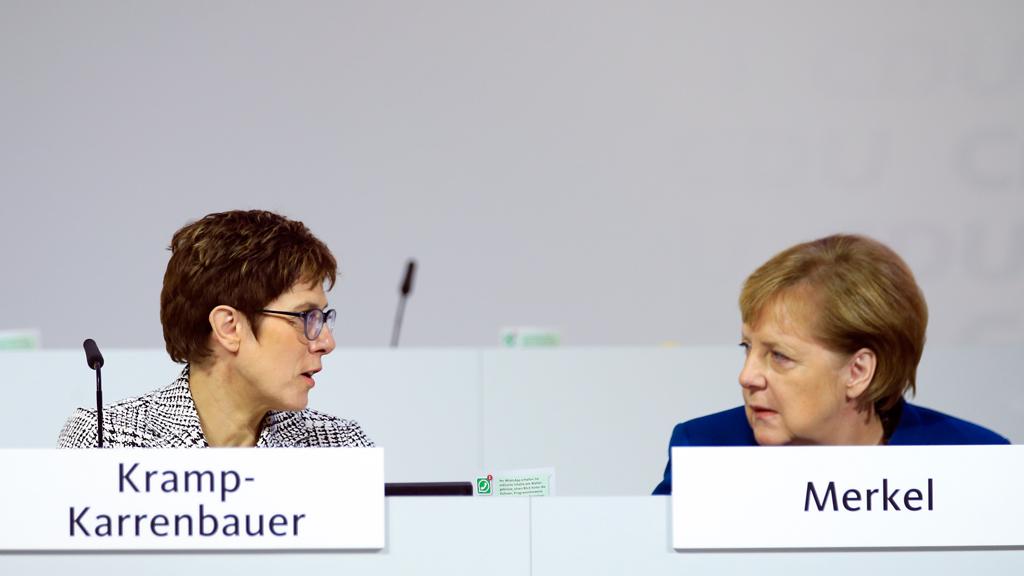 Annegret Kramp-Karrenbauer | Angela Merkel