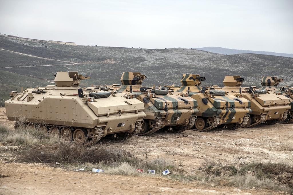 12 Şubat 2020 | Türk Silahlı Kuvvetleri (TSK) İdlib'deki gözlem noktalarına komando takviyesi yaptı.