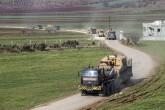 17 Şubat 2020 | İdlib'deki gözlem noktalarına 150 araçlık sevkiyat: Türk Silahlı Kuvvetleri (TSK), İdlib'deki gözlem noktalarına obüs, tank, mühimmat ve zırhlı personel taşıyıcı (ZPT) sevk etti. Konvoy güvenlik önlemleri altında İdlib'deki gözlem noktalarına gönderilmek üzere sınır birliklerine yönlendirildi.