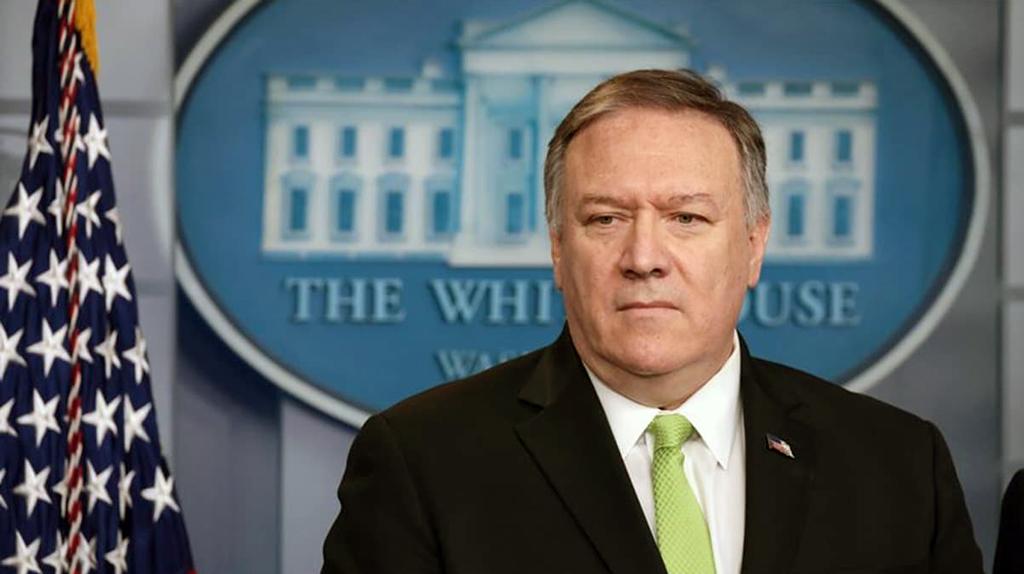 Amerika Birleşik Devletleri Dışişleri Bakanı Mike Pompeo