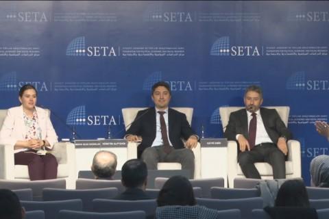 """Siyaset, Ekonomi ve Toplum Araştırmaları Vakfı (SETA) """"Bulgaristan Türklerinin Kültürel, Ekonomik ve Siyasi Meseleleri ve Çözüm Önerileri"""" başlıklı bir panel düzenlendi."""