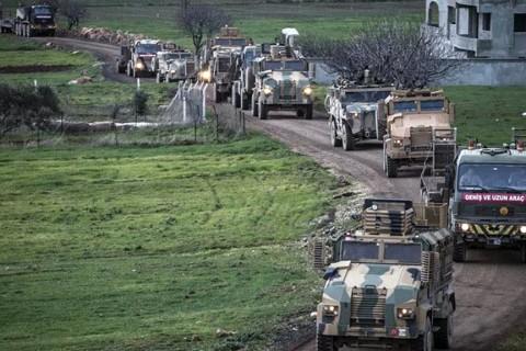 7 Şubat 2020 | Suriye sınırına 200 araçlık askeri konvoy gönderildi. Türkiye'deki farklı birliklerinden takviye amaçlı Hatay'ın Reyhanlı ilçesine gönderilen ve ilçedeki birliklerde bekletilen komandolar, hazırlıklarını tamamladı.  Konvoy, sınır birliklerine yönlendirildi.
