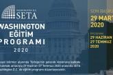 SETA Washington D.C. Eğitim Programı | Yaz 2020