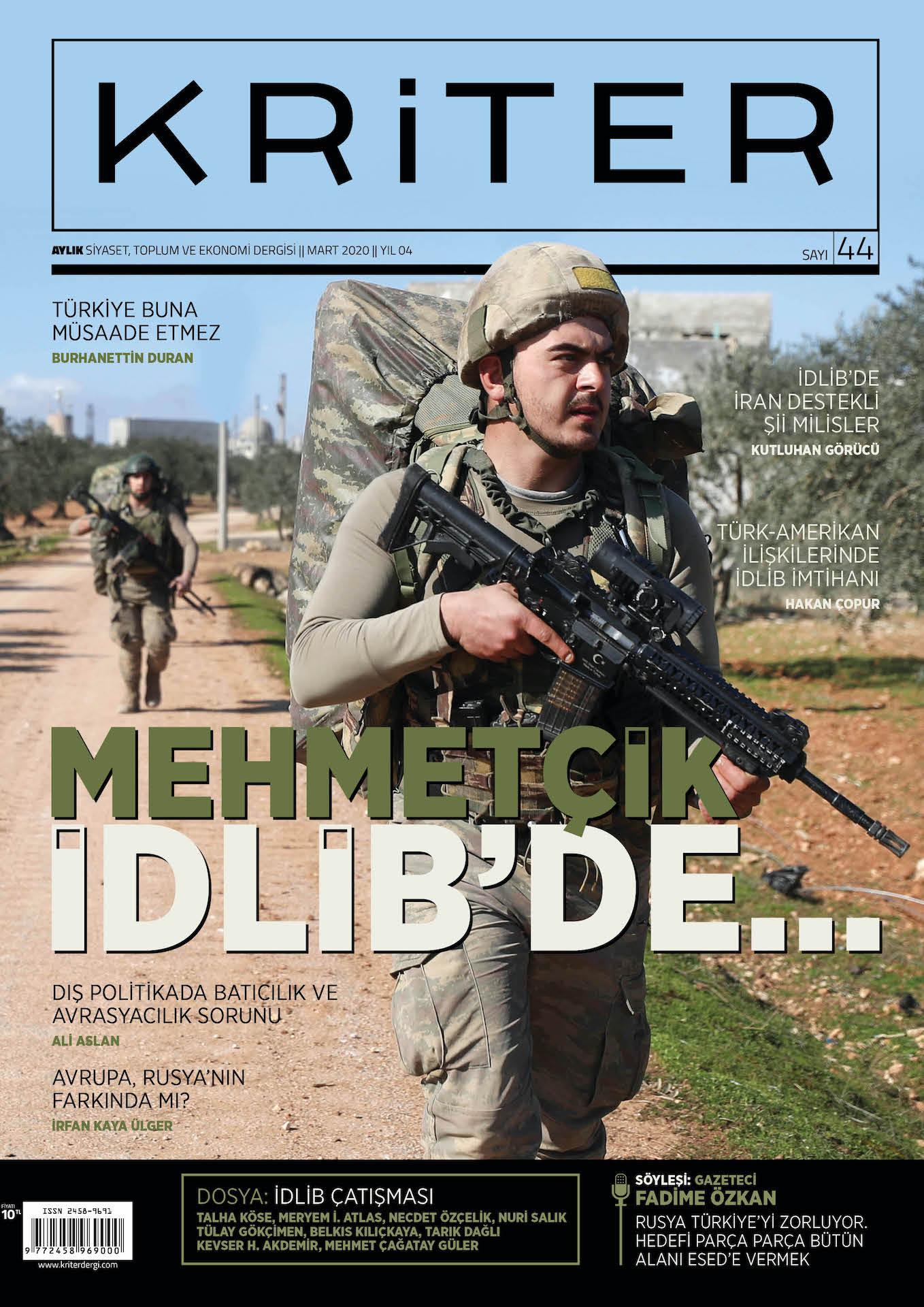 Kriter Dergisi Sayı: 44