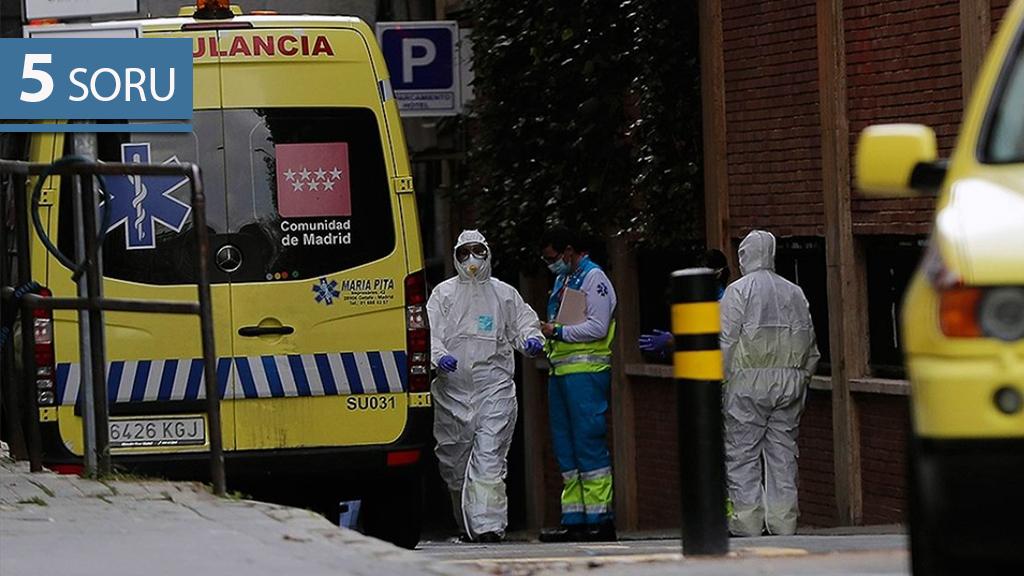 İspanya'nın Koronavirüs ile Mücadelesi