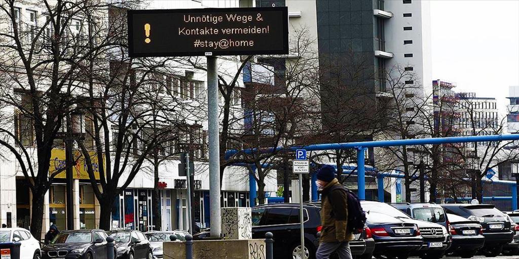 Almanya'nın Koronavirüs Salgınına Karşı Mücadelesi