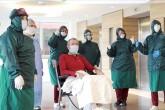Türkiye'nin çeşitli illerinde yeni tip koronavirüs (Kovid-19) tedavisi tamamlanan hastalar taburcu ediliyor.