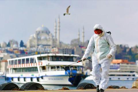 İstanbul'da koronavirüs ile mücadele