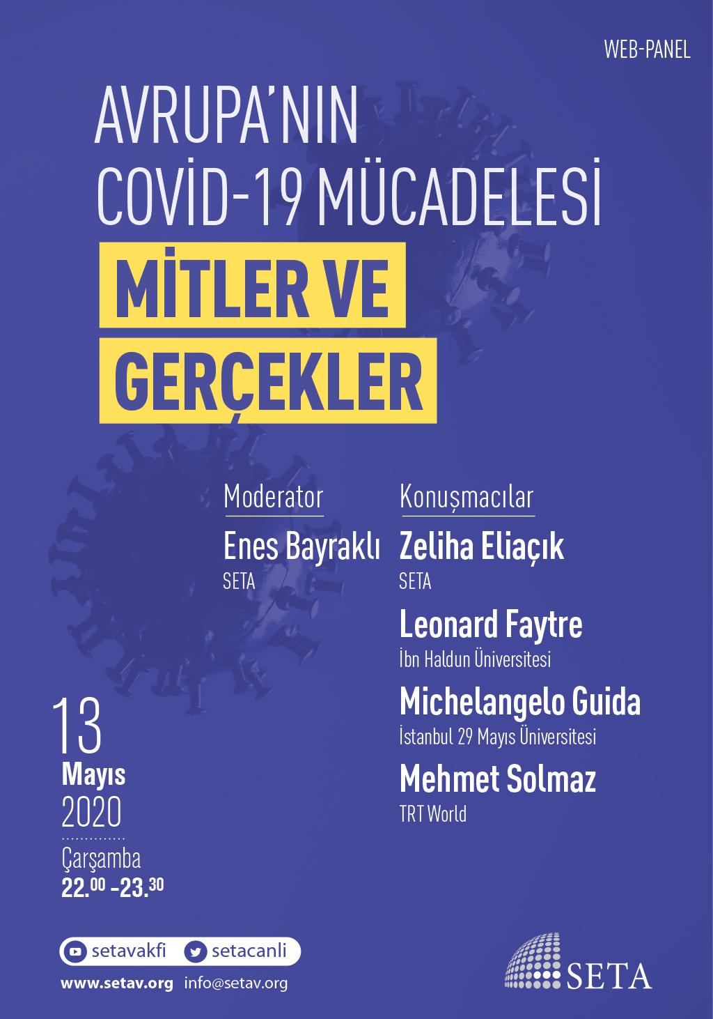 Web Panel: Avrupa'nın COVİD-19 Mücadelesi   Mitler ve Gerçekler