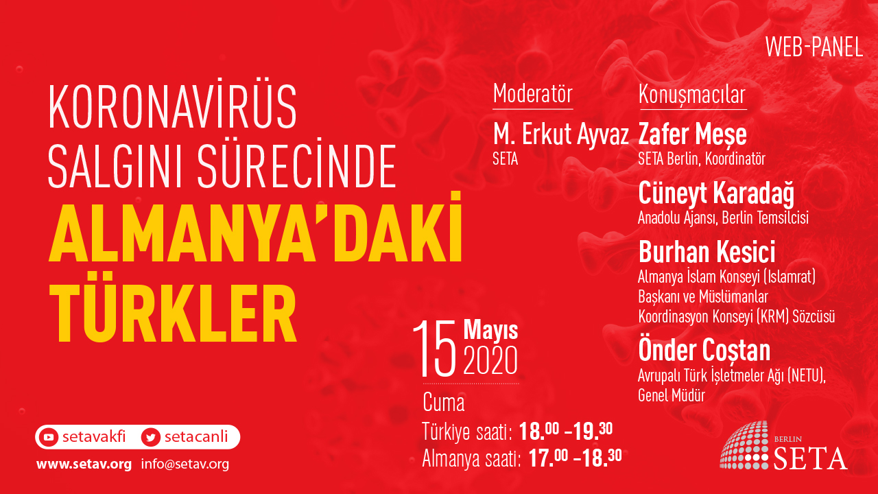 Koronavirüs Salgını Sürecinde Almanya'daki Türkler