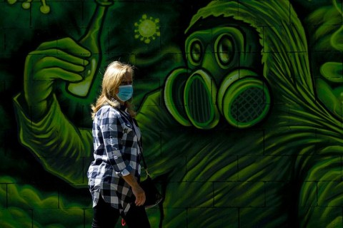 Koronavirüs |Grafiti