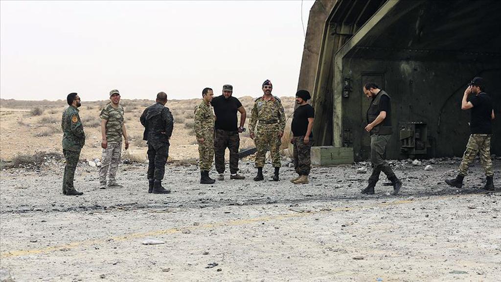Terhune, Libya