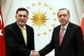 Cumhurbaşkanı Recep Tayyip Erdoğan, Libya Ulusal Mutabakat Hükümeti Başbakanı El Sarrac ile