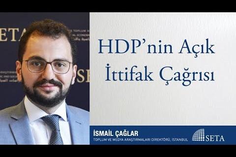 HDP'nin Açık İttifak Çağrısı