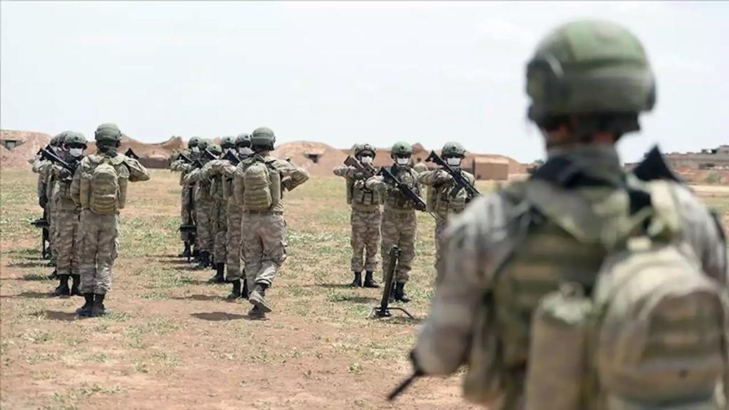 24 Mayıs 2020 | Suriye, Rasulayn Ed Davdiye üs bölgesinde konuşlu 49. Komando Tugay Komutanlığına bağlı 1.Komando Tabur Komutanlığında görevli Mehmetçik