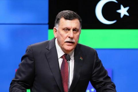 Libya Devlet Başkanlığı Konseyi Başkanı ve Başbakanı Fayiz es-Serrac