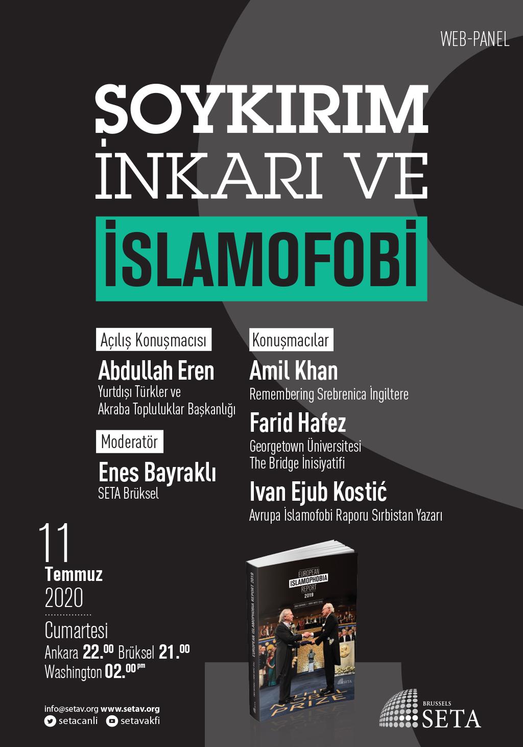 Web Panel: Soykırım İnkarı ve İslamofobi