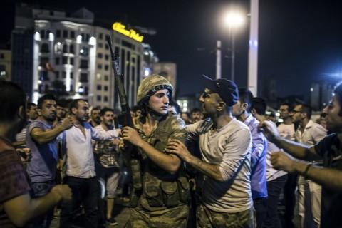 15 Temmuz 2016 gecesi Taksim